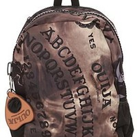 Ouija Board Large Zipper Backpack - 654047