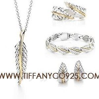 Shopping Cheap Tiffany Nature Leaf Hoop Set At Tiffanyco925.com - Discount Tiffany Setting