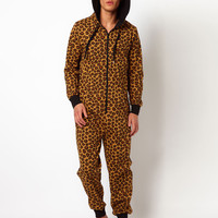 New Look Leopard Print Onesuit