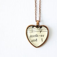 Mothers day necklace.  Mother daughter