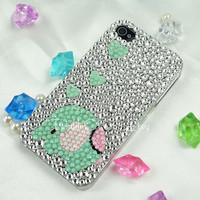Original Elephant Crystal Bling Bling Phone Case