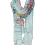 Map Print Scarf - Back In Stock  - New In