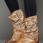 Free People Crochet Beau Boot