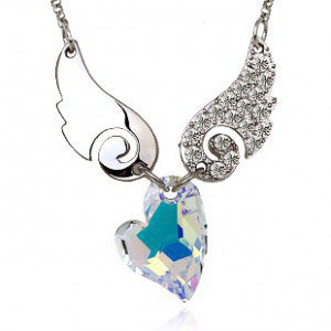 Eros Necklace - Swarovski Crystal Pendant Necklace for Women