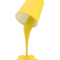 LumiSource Woopsy Table Lamp in Yellow