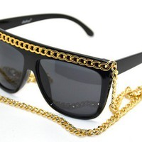 Personalized chain sunglasses