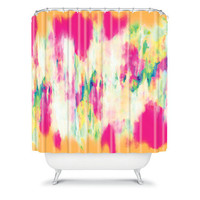 DENY Designs Home Accessories | Amy Sia Electric Haze Shower Curtain
