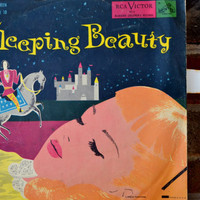 1950&#x27;s Sleeping Beauty Story Record