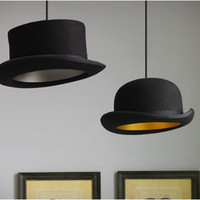 Jeeves Hat Pendant Lamp By Jake Phipps
