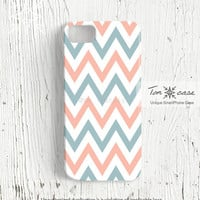 Chevron iPhone 5 case - iPhone 4 case, iPhone 4s case, High quality 3D printing, Gift - basic chevron patterns (c174)