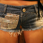 mini-the itty bitty denim shorts | hudiefly