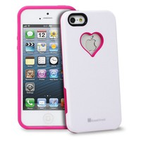 RADIANT Series Heart Shape Valentines Day Case for Apple iPhone 5
