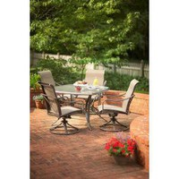 Martha Stewart Living, Grand Bank 5-Piece Patio Dining Set, D4067-5PC at The Home Depot - Mobile