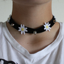 Daisy and Spikes Choker