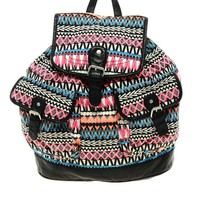 Bright Ikat Backpack