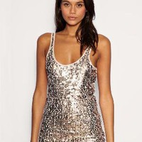 Vila | Vila Sequin Tank at ASOS