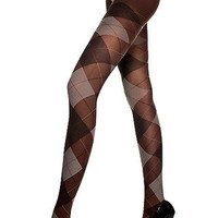 Tights - Argyle Attitude - Tailor and Stylist