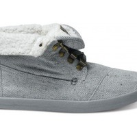 Highlands Grey Wool Fleck Fleece Women's Botas | TOMS.com