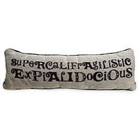 Mary Poppins Pillow - ''Supercalifragilisticexpialidocious'' | Disney Store