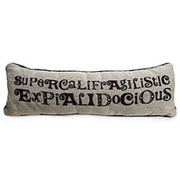 Mary Poppins Pillow - &#x27;&#x27;Supercalifragilisticexpialidocious&#x27;&#x27; | Disney Store