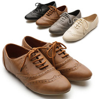 Classics Lace Ups Dress Oxfords