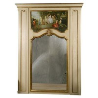 One Kings Lane - The Vintage Bedroom - Trumeau Mirror