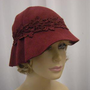Mallory Fur Felt Velour Cloche 
