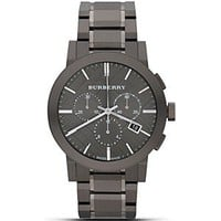 Burberry Black Bracelet Watch, 42mm | Bloomingdale's