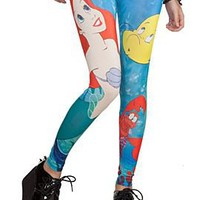 Disney The Little Mermaid Leggings Plus Size - 364420