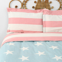 American Flag Sham - Set Of 2