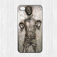 Han Solo iPhone 4 Case,Frozen in Carbonite iPhone 4 4g 4s Hard Case,Star Wars cover skin case for iphone 4/4g/4s case,More styles