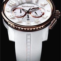 Tendence White Rose Gold Chronograph - Cool Watches from Watchismo.com