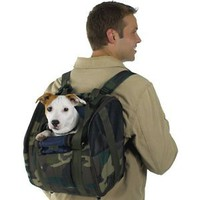 Amazon.com: CAMO Backpack Dog Carrier - For dog up to 16 pounds: Pet Supplies