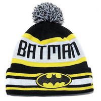 Batman Superman Supreme Beanie Hats by PlutoTops on Etsy