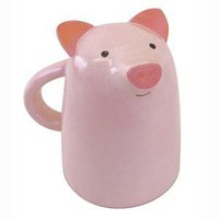 Animal Face Mug-Pig
