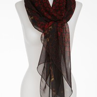 Alexander McQueen &#x27;God Save McQueen&#x27; Silk Chiffon Scarf | Nordstrom