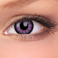 Amazon.com: iColor Violet - 1 Pair: Health & Personal Care