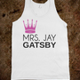 Mrs. Jay Gatsby - Southern State of Mind - Skreened T-shirts, Organic Shirts, Hoodies, Kids Tees, Baby One-Pieces and Tote Bags