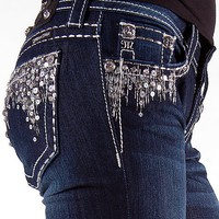 Miss Me Sequin Drip Boot Stretch Jean - Women&#x27;s Jeans | Buckle