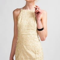 Shakuhachi &#x27;Nouveau Embroidery&#x27; Apron Dress