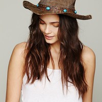 Free People Chicory Cowboy Hat
