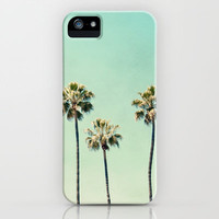 Palm Trees  iPhone Case by Bree Madden  | Society6