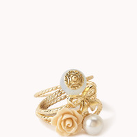Womens rings and pin | shop online | Forever 21 -  1000048925