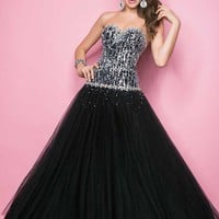 Blush 5235 at Prom Dress Shop