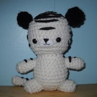 Handmade Crochet Amigurumi Tiger Made To Order