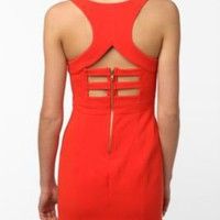 UrbanOutfitters.com &gt; Sparkle &amp; Fade Harness Neck Bodycon Dress
