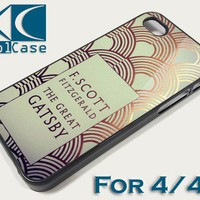 The Great Gatsby Iphone case for iphone 4/4S