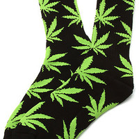 HUF Socks Plantlife in Black