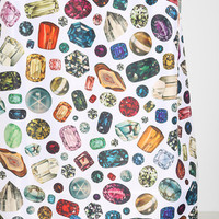Urban Outfitters - Family Jewels Diamond Shower Curtain