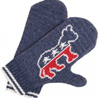 Democrat Mitten - Whimsical &amp; Unique Gift Ideas for the Coolest Gift Givers
